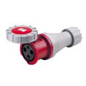 CEE Electrical Connectors(Industrial Couplers) 125A 2P+E IP67 9H HTN2431-9