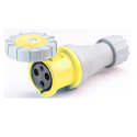 CEE Electrical Connectors(Industrial Couplers) 125A 2P+E(3P) IP67 4H HTN2431-4