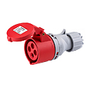 IP44 Industrial Connectors(Industrial Couplers) 16A 3P+E IP44 6H HTN214