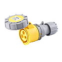 CEE Electrical Connectors(Industrial Couplers) 32A 2P+E IP67 4H HTN2231-4