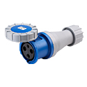 CEE Electrical Connectors(Industrial Couplers) 125A 2P+E(3P) IP67 6H HTN2431