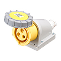 Industrial Surface Mounted Sockets 16A 2P+E IP67 4H HTN1131-4