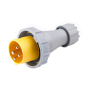 CEE Electrical Plug 125A 3P+E IP67 4H HTN0441-4