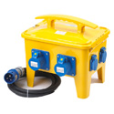 Portable Floor Stand Power Distribution Box A12MB03-4